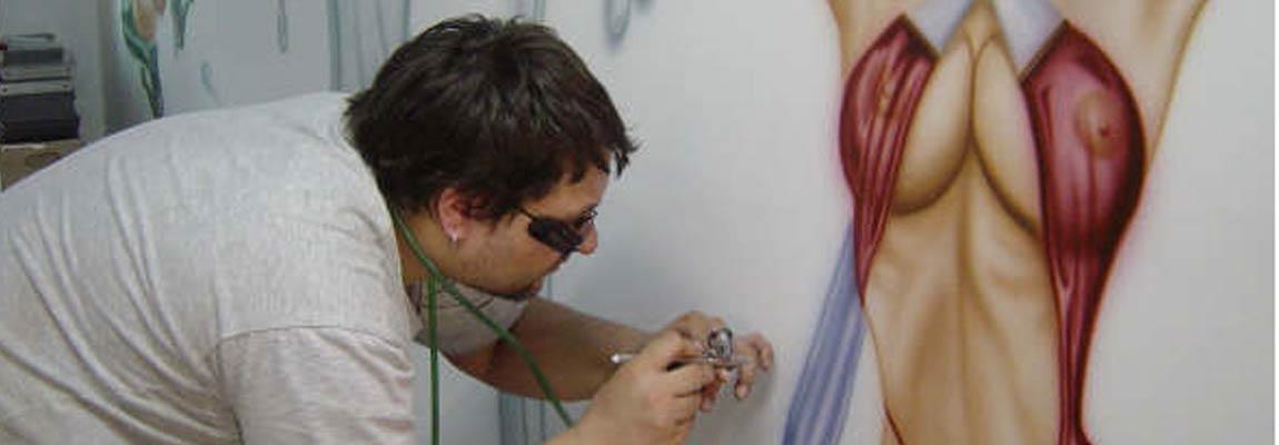 Gemälde von Dr. Pinsel